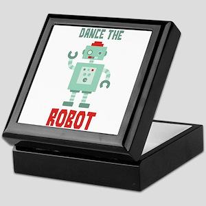 DANCE THE ROBOT Keepsake Box
