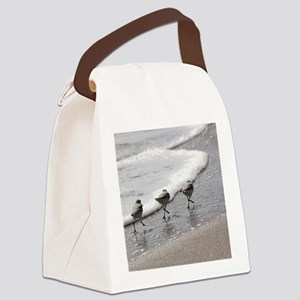 Sandpipers Canvas Lunch Bag