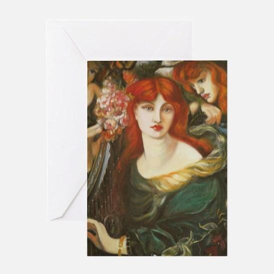 D'après Rosetti Greeting Card