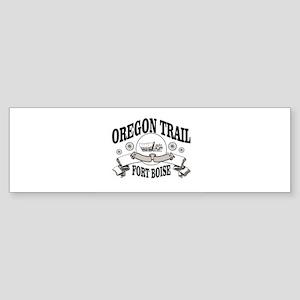 Oregon trail gray FB Bumper Sticker