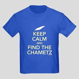 Keep Calm - Find Chametz Kids Dark T-Shirt