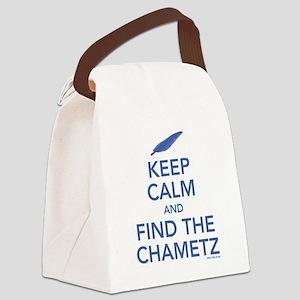 Keep Calm - Find Chametz Canvas Lunch Bag