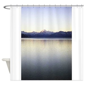 Mountain Lake Shower Curtains
