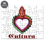 red heart design Puzzle