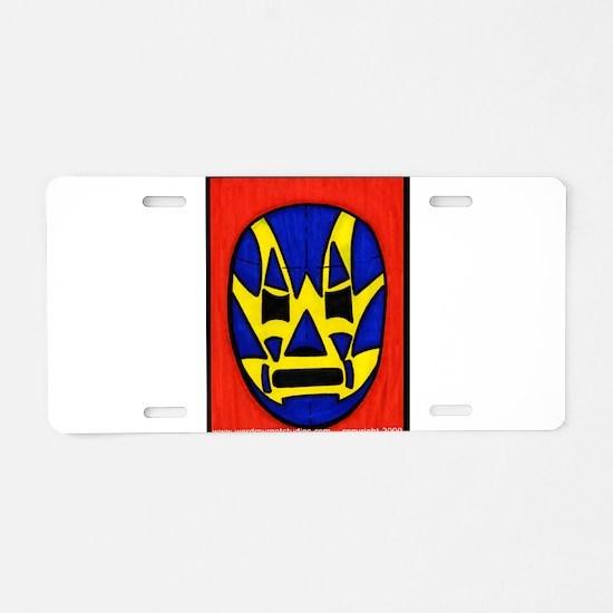 El Fishman Aluminum License Plate