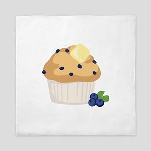 Blueberry Muffin Queen Duvet