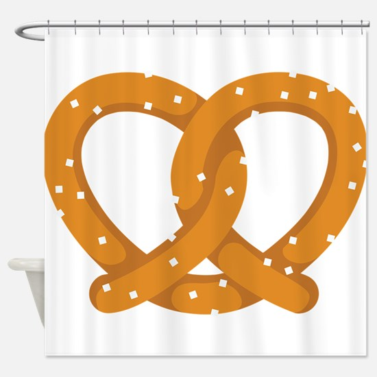 Pretzel Shower Curtain