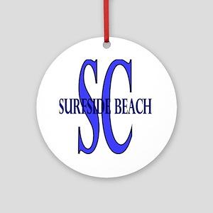 Surfside Beach SC Ornament (Round)