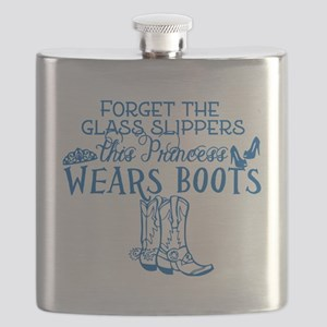 Princess in Boots Flask