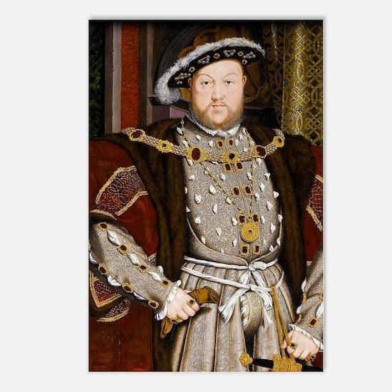 Henry VIII. Postcards (Package of 8)