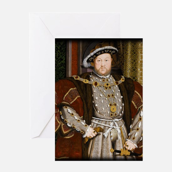 Henry VIII. Greeting Card