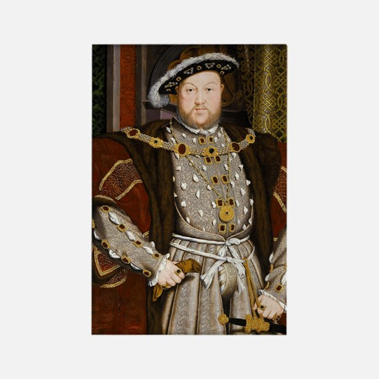 Henry VIII. Rectangle Magnet