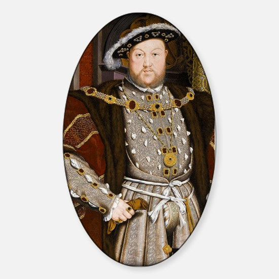 Henry VIII. Sticker (Oval)
