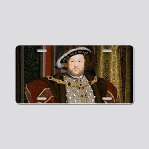 Henry VIII. Aluminum License Plate