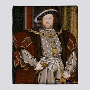 Henry VIII. Throw Blanket