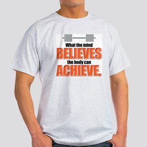 BELIEVE/ACHIEVE Ash Grey T-Shirt