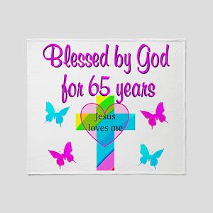 JESUS LOVE 65TH Throw Blanket