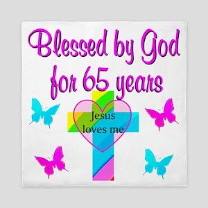 JESUS LOVE 65TH Queen Duvet