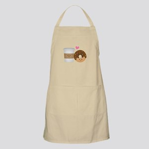 Donut-and-Coffee-love Apron