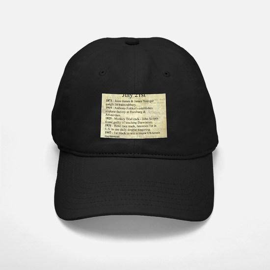 July 21st Baseball Hat