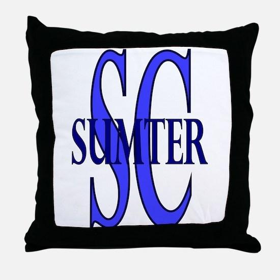 Sumter SC Throw Pillow