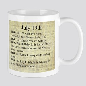 July 19th Mugs