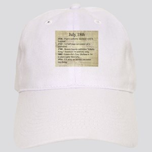 July 18th Baseball Cap