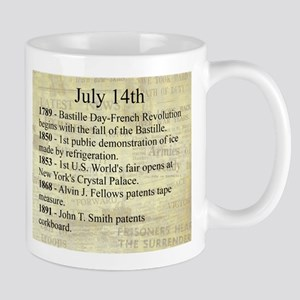 July 14th Mugs