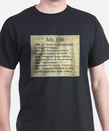 July 11th T-Shirt