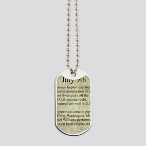 July 9th Dog Tags