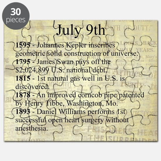 July 9th Puzzle