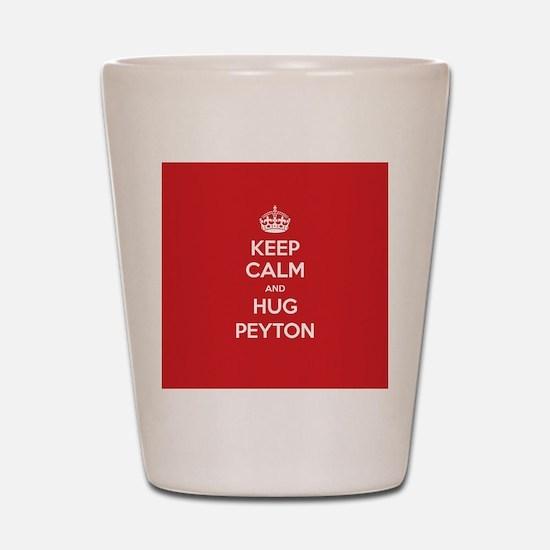 Hug Peyton Shot Glass