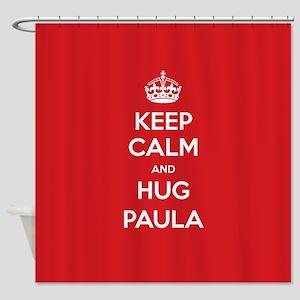 Hug Paula Shower Curtain