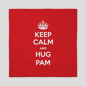 Hug Pam Queen Duvet