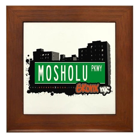 Mosholu Pkwy, Bronx, NYC Framed Tile