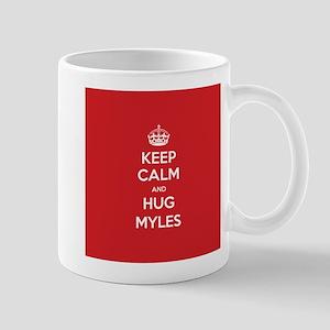 Hug Myles Mugs