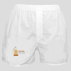 EIN BIER, BITTE! Boxer Shorts