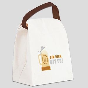EIN BIER, BITTE! Canvas Lunch Bag