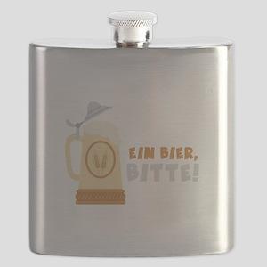 EIN BIER, BITTE! Flask
