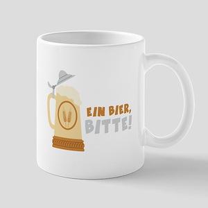 EIN BIER, BITTE! Mugs