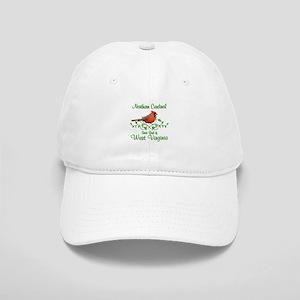 Cardinal West Virginia Bird Cap