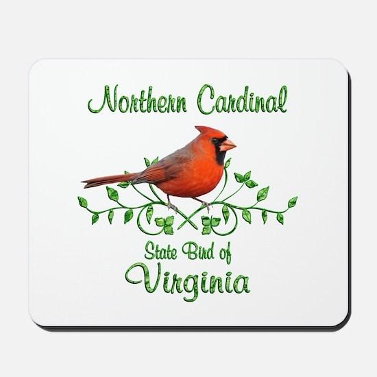 Cardinal Virginia Bird Mousepad
