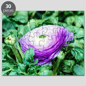 Purple Persian Buttercup Puzzle