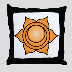 The Sacral Chakra Throw Pillow