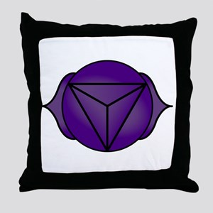 The Third Eye Chakra Throw Pillow