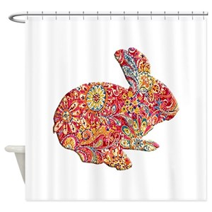 Bunny Shower Curtains