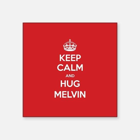 Hug Melvin Sticker