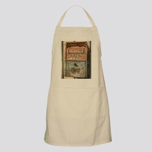 western country vintage mailbox Apron