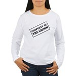 Property of the Groom Women's Long Sleeve T-Shirt