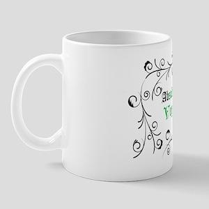 Absolutely Vegan Swirls Mug